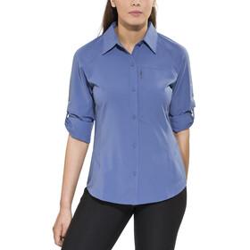 Columbia Silver Ridge Maglietta a maniche lunghe Donna blu